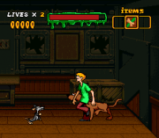 Cheats for Scooby-Doo Mystery SNES