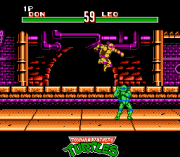 Play Teenage Mutant Hero Turtles – Tournament Fighters Online(NES)