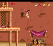 Cheats for Aladdin SNES