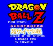 Play Dragon Ball Z – Super Saiya Densetsu (english translation) Online