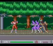 Cheats for Mighty Morphin Power Rangers SNES