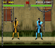 Cheats for Mortal Kombat II SNES