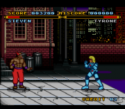 Cheats for Street Combat SNES