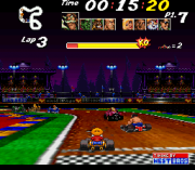 Cheats for Street Racer SNES