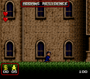 Cheats for The Addams Family SNES