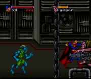 Cheats for The Death and Return of Superman SNES