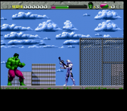 Cheats for The Incredible Hulk SNES