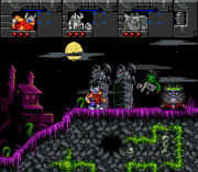 Cheats for The Lost Vikings II SNES