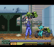 Cheats for The Ninja Warriors SNES